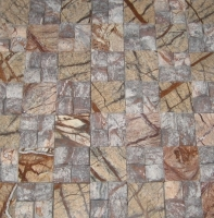 Rain Forest Brown Mosaic