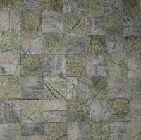 Rain Forest Green Mosaic